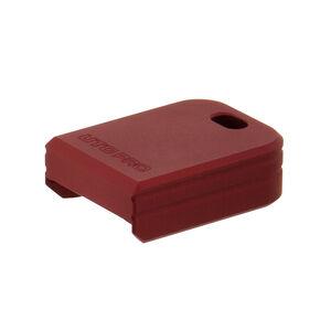 UTG PRO +0 Base Pad, SA XDm, Matte Red Aluminum