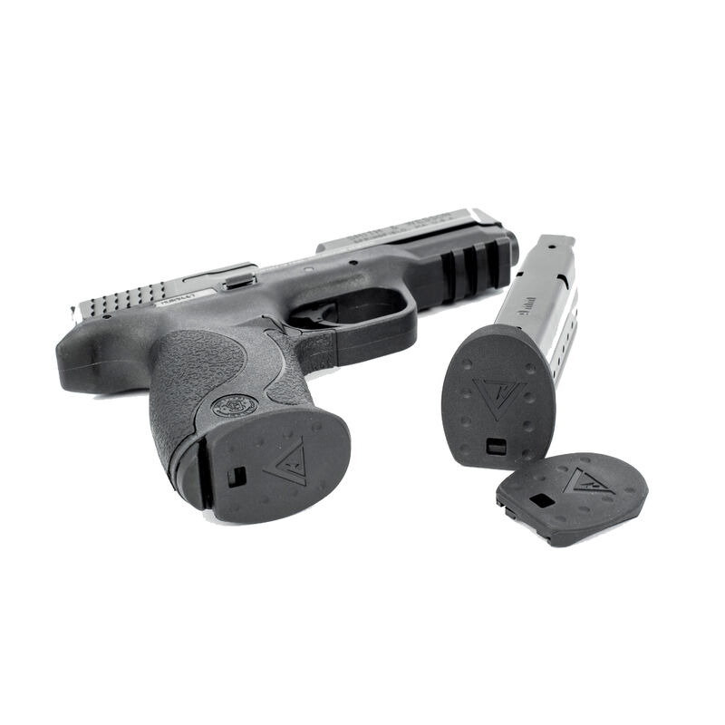 TangoDown Vickers S&W M&P Tactical Magazine Floor Plates 9mm/.40 S&W/.357 SIG Polymer Black 5 Pack VTMFP-004-MP