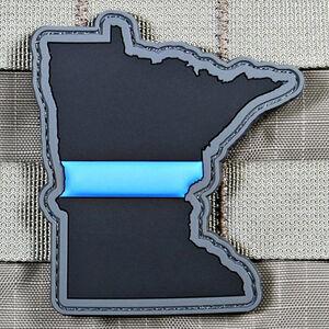 "Violent Little Machine Shop ""Thin Blue Line"" State of Minnesota Morale Patch"