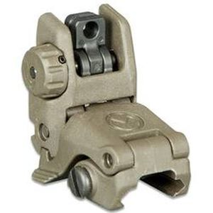 Magpul MBUS Gen 2 Flip-Up Rear Sight AR-15 Picatinny Compatible Injection Molded Polymer Olive Drab Green