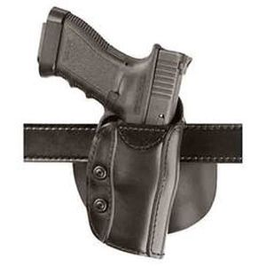 Safariland 568 Custom Fit Paddle Holster, Sig P220, S&W M&P 9 and 40, Right Hand, STX Plain Black