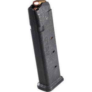 Magpul PMAG 21 GL9 for GLOCK 9mm Magazine, 21 Rounds, Polymer, Black