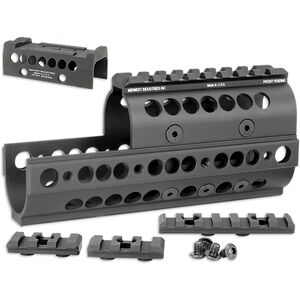 Midwest Industries AK-47 SS Handguard with RMR Topcover, Black