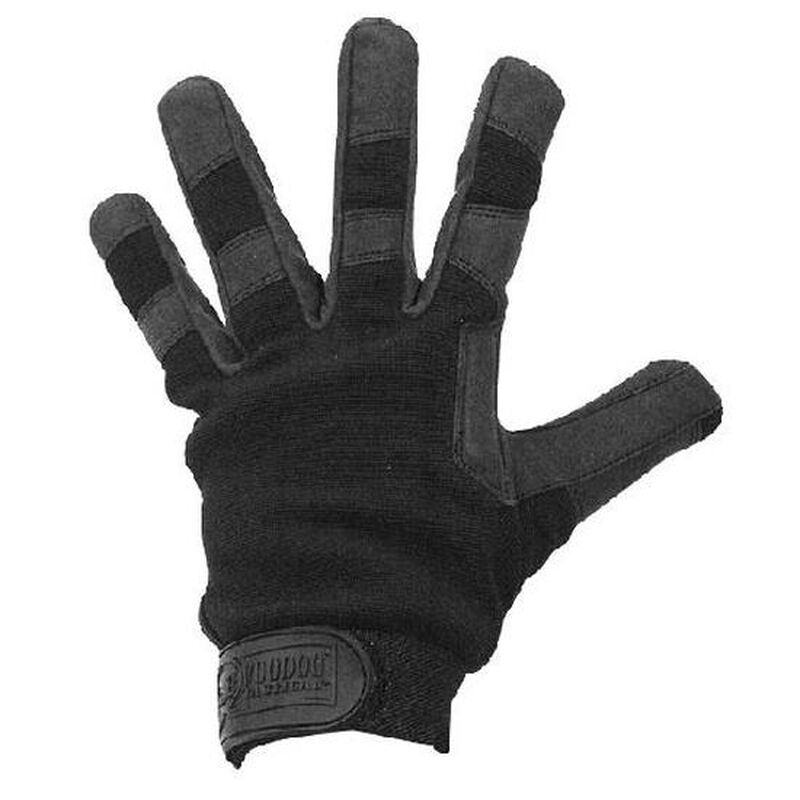 Voodoo Tactical Crossfire Padded Palm Reinforced Thumb Gloves Large Black 20-9120001094