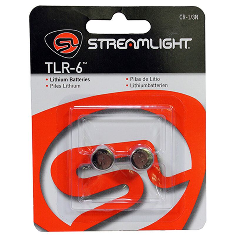 Streamlight CR1/3N Lithium Batteries for TLR-6 2 Pack
