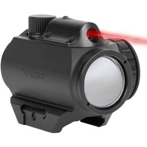 NcSTAR Micro Dot Sight Green Dot with Integrated Red Laser 3 MOA Dot Picatinny Mount Matte Black
