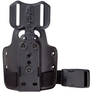 Safariland Model 6004-25 Single Strap Leg Shroud with Drop Flex Adapter Black