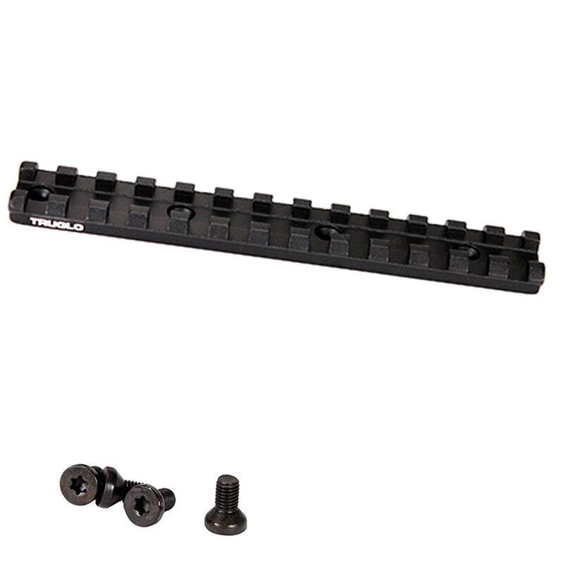 TruGlo Picatinny Optic Rail Mossberg 500/590/590A/835/930 Aluminum Matte Black