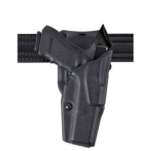 Safariland 6390 GLOCK 19, 23 with Light ALS Duty Retention Holster, Mid-Ride, Right Hand, STX Tactical Black
