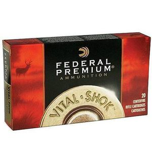 Federal Trophy Copper 7mm Rem Mag Ammunition 20 Rounds 140 Grain Lead Free Polymer Tip
