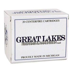 Great Lakes Ammunition Reman .458 SOCOM 20 Rounds JHP 300 Grains