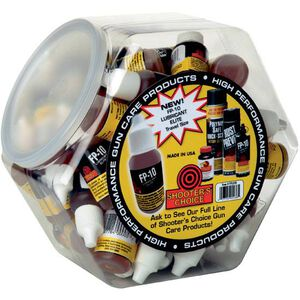 Shooter's Choice FP-10 Lubricant Elite, .05 oz, 36 Packs and Display Bowl