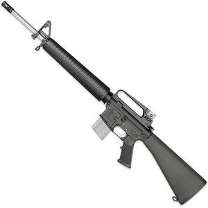 "Rock River LAR-15 NM A2 5.56 NATO AR-15 Semi Auto Rifle 20"" Barrel .223 Wylde Chamber 20 Rounds Free Float Handguard Fixed Stock Black Finish"