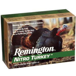 "Remington Nitro Turkey 12 Ga 3.5"" #4 Lead 2oz 10 Rounds"