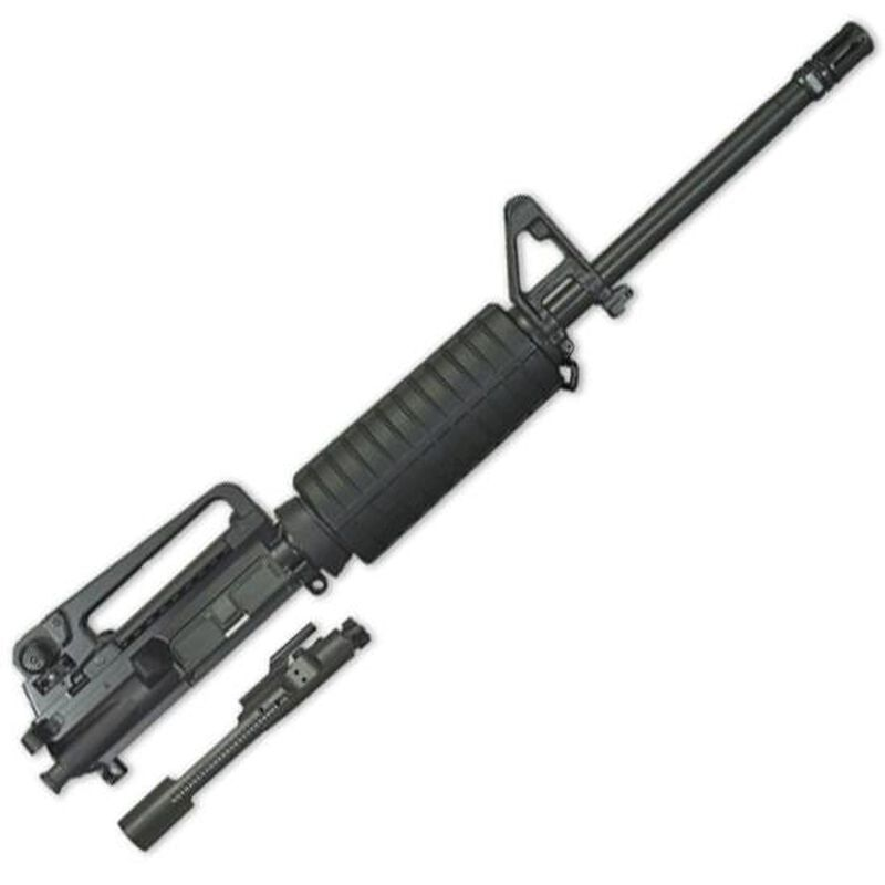 """Windham Weaponry AR-15 Complete Upper Assembly .223 Remington/5.56 NATO 16"""" Heavy Barrel Carbine Length Gas System Fixed Front Sight Removable Carry Handle UR16A4B"""