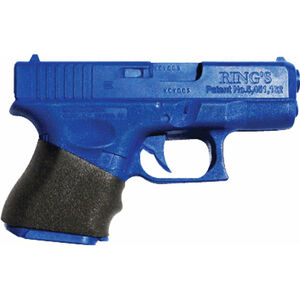 EZR Sport Gauntlet Small Grip Sleeve GLOCK Sub-Compact 26/27/29/30/39/28/33 Sorbothane Black