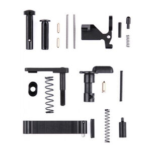 San Tan Tactical AR-15 Lower Parts Kit Without Pistol Grip/Trigger Group Black