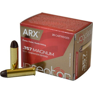 Polycase ARX Self Defense .357 Mag Ammunition 20 Rounds 87gr Cu/P ARX Bullet