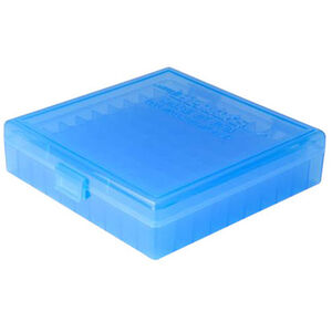Berry's Ammo Box 100 Round .40S&W/.45 ACP/10mm and Similar Polymer Blue