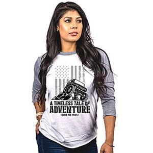 Nine Line Apparel Adventure Women's Long Sleeve Shirt Cotton