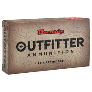 Hornady Outfitter .300 WSM Ammunition 20 Rounds GMX 180 Grains