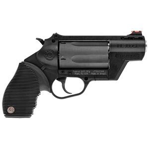 "Taurus Judge Public Defender Polymer .45 Long Colt/.410 Bore DA Revolver 2.5"" Barrel 2.5"" Chamber 5 Rounds Fiber Optic Front Sight Taurus Ribber Grip Black"