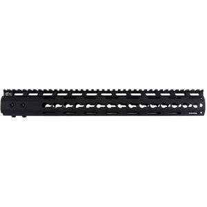 "JE Machine Tech AR-15 15"" KeyMod Style Free Float Handguard Aluminum Black"