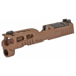 "SIG Sauer Pro Cut Optic Ready P320 Compact 9mm Luger Slide Assembly 3.9"" Barrel Compatible Coyote FDE"