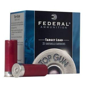 """Federal Top Gun Extra Lite Target 12 Gauge Ammunition 250 Rounds 2-3/4"""" #8 Lead Shot 7/8 Ounce 1200fps"""