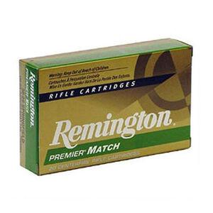 Remington Premier Match .308 Winchester Ammunition 20 Rounds 175 Grain Sierra MatchKing Boat Tail Hollow Point Projectile 2609fps