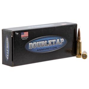 DoubleTap Long Range 6.5 Creedmoor Ammunition 20 Rounds 140 Grain Hollow Point Boat Tail Projectile