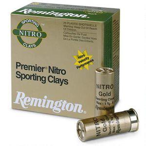 """Remington Premier STS Nitro SC 12 Gauge Ammunition 250 Rounds 2-3/4"""" #7.5 Lead 1-1/8 Ounce STS12NSC7"""