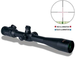 Konus KonusPro M30 10-40x52 Riflescope Engraved Dual Illuminated Mil-Dot Reticle 30mm Tube Matte Black Waterproof 7286