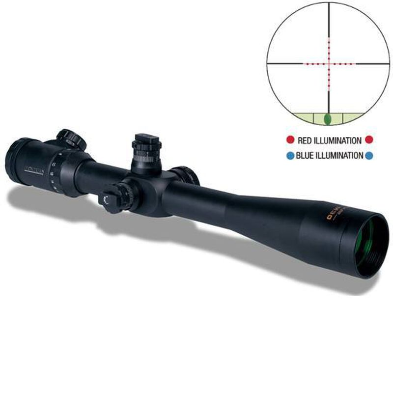 Konus KonusPro M30 10-40x52 Riflescope Engraved Dual Illuminated Mil-Dot Reticle 30mm Tube Matte Black Waterproof 7286
