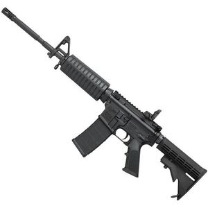"Colt CR6920 M4 Carbine AR-15 5.56 NATO Semi Auto Rifle 16.1"" Barrel 30 Rounds A2 Front Sight Polymer Hand Guard Collapsible Stock Matte Black"