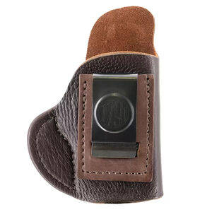 1791 Gunleather Fair Chase Size 2 IWB Holster for Small J-Frame Revolvers Right Hand Draw American Whitetail Deer Skin Brown