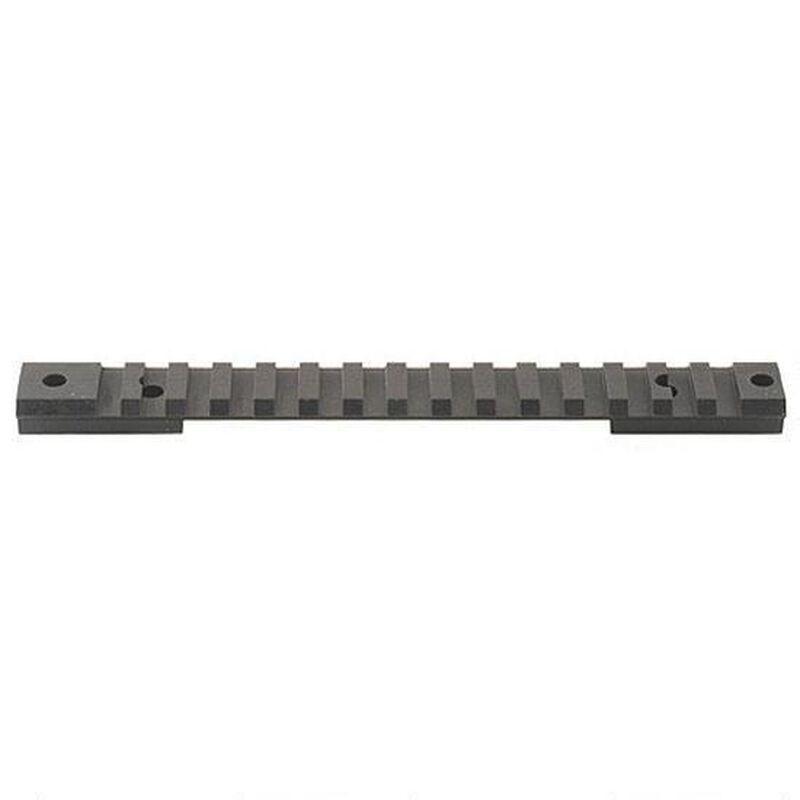 Warne Scope Mounts Tactical 1 Piece Base Fits Weatherby Mark V Magnum 9 Lug with 20 MOA Incline Matte Black Finish M654-20MOA