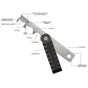 Real Avid AR10 Scraper .308 BCG Cleaner and Multi-Tool