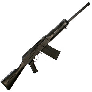 "SDS Imports Lynx LH-12 Semi Auto Shotgun 12 Gauge 19"" Barrel 3"" Chamber 5 Round Detachable Box Magazine Left Side Scope Rail Fixed Stock Polymer Furniture Matte Black"