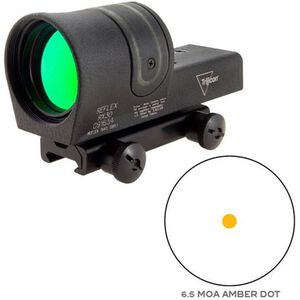 Trijicon 42mm Reflex Amber 6.5 MOA Dot Reticle with TA51 Mount Black RX30A-51