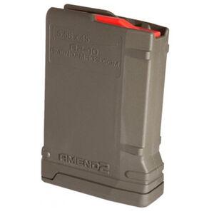 Amend2 AR-15 10 Round Magazine Mod-2 .223 Remington/5.56 NATO OD Green  556MOD2ODG10