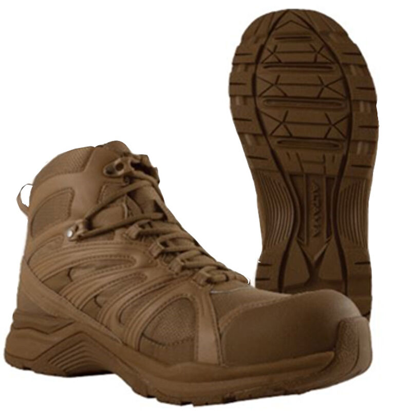 wide varieties beautiful design reasonably priced Altama Aboottabad Trail Mid Height Men's Boot Size 8.5 Wide Coyote