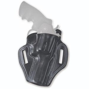"""Galco Combat Master Ruger SP101 Belt Slide Holster 3"""" Barrel Right Hand Leather Black"""
