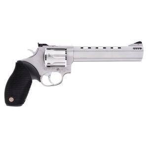 "Taurus Tracker 627 Double Action Revolver .357 Magnum 6.5"" Ported Barrel 7 Rounds Fixed Front Sight/Adj Rear Sight Ribber Grip Matte Stainless Steel Finish"