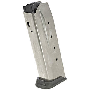 Ruger American Pistol Magazine .45 ACP 10 Rounds Stainless Steel 90512