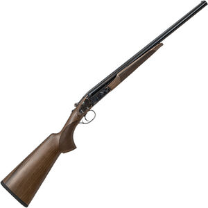 "CZ-USA Sharp-Tail Coach Gun SxS Break Action Shotgun 20 Gauge 20"" Double Barrel 3"" Chambers 2 Rounds Color Case Hardened Receiver Turkish Walnut Stock Black Finish"