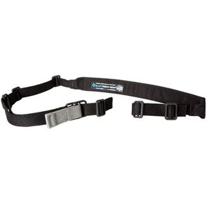 """Blue Force Gear Padded Vickers Combat Applications Sling 1.25"""" Wide Nylon Webbing with 2"""" Pad Polymer Hardware Black VCAS-200-OA-BK"""
