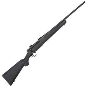 "Mossberg Patriot Bolt Action Rifle .22-250 Remington 22"" Barrel 5 Rounds Synthetic Stock Matte Blue Finish 27843"