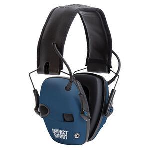 Howard Leight Impact Sport Folding Electronic Earmuff True Blue