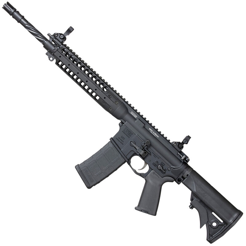 "LWRCI M6 IC-E 5.56 NATO Semi Auto Rifle, 14.7"" Barrel, 30 Rounds, Black"